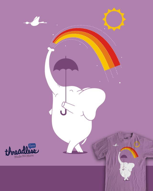 make a rainbow in the sky by netralica on Threadless