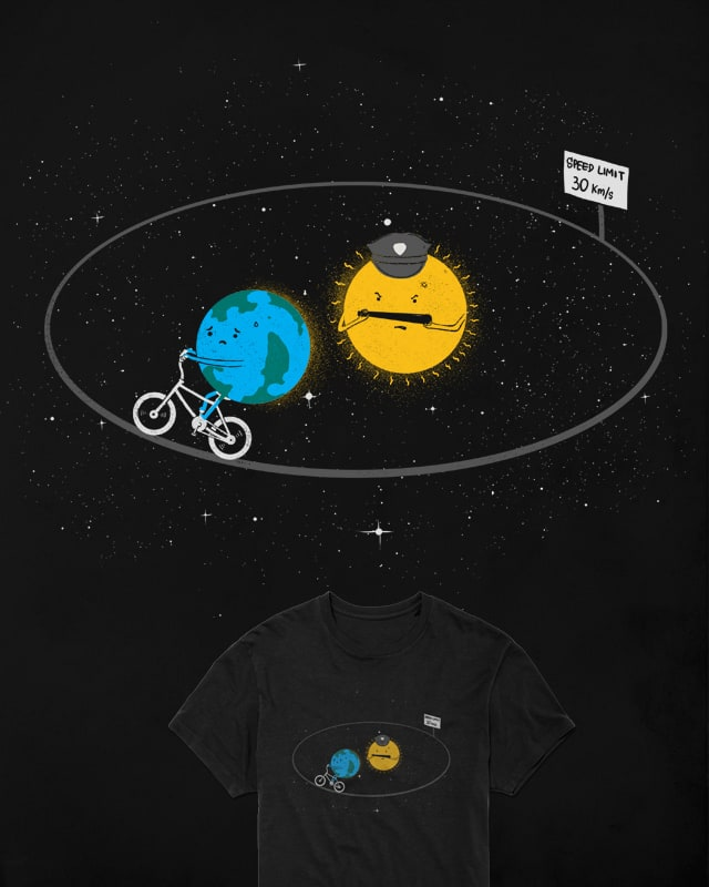 Orbital speed limit by Shadyjibes on Threadless