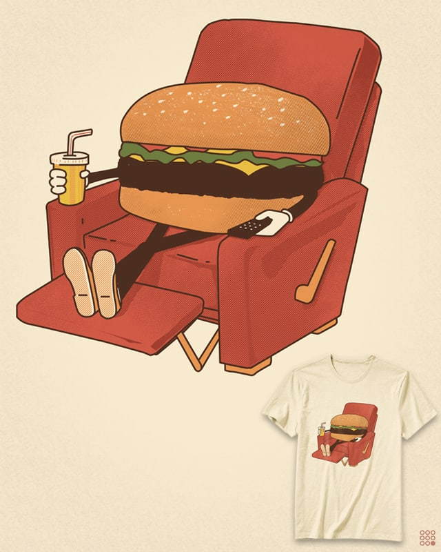 Lunch Break. by NiNTH WHEEL on Threadless