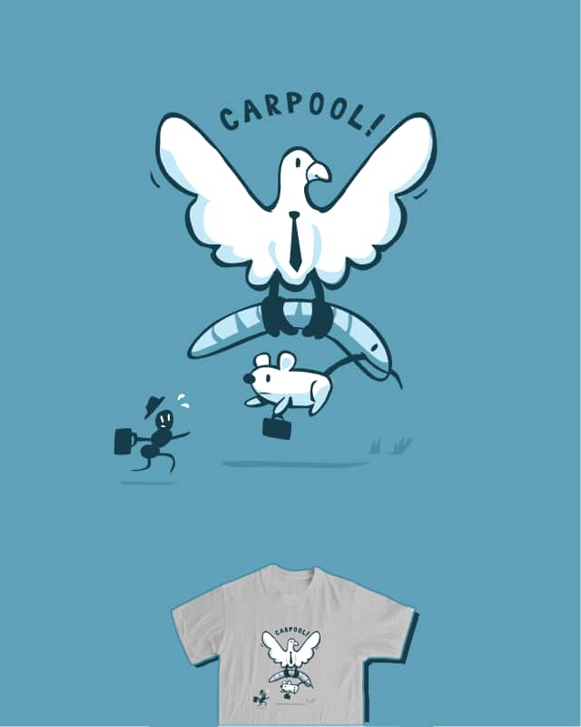 Predator Carpool! by nathanwpyle at gmail.com on Threadless