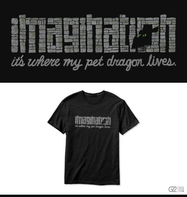 Imagination! by goliath72 on Threadless