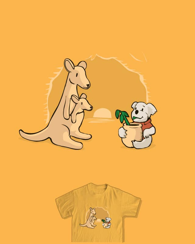 Geographically Accurate Animal Friends by nathanwpyle at gmail.com on Threadless