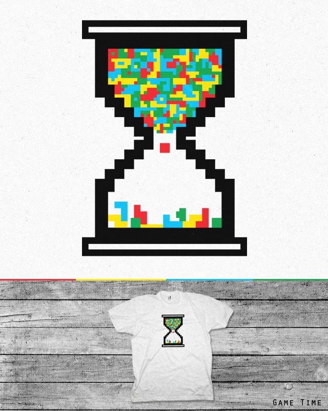 Game Time by addu on Threadless