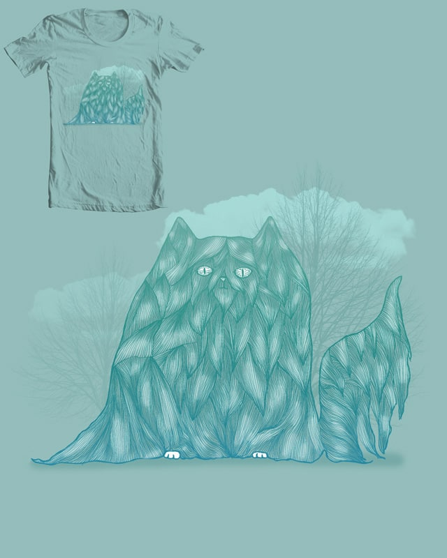 Hairy Cat by camilaplate on Threadless