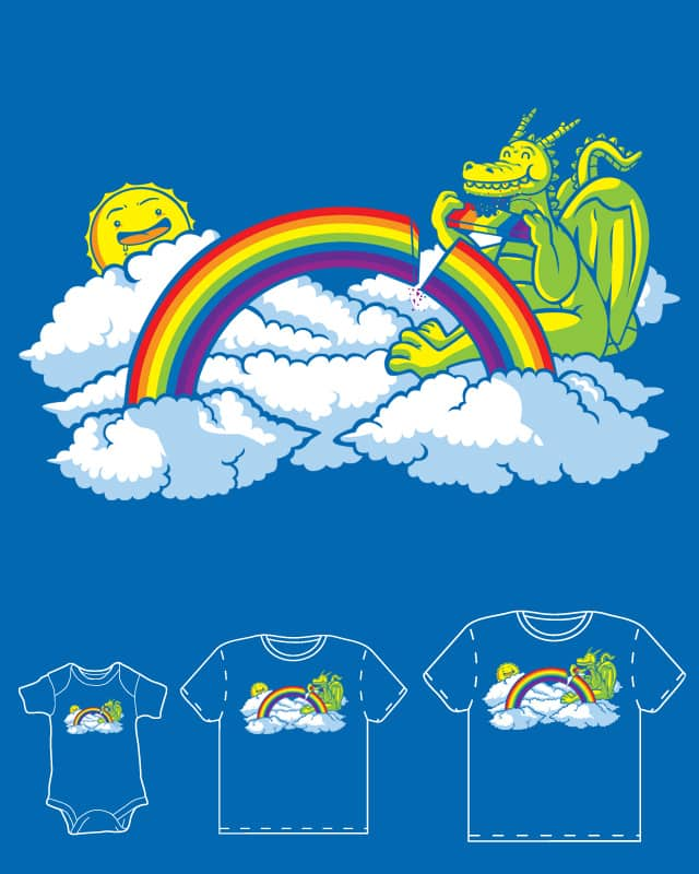 rainbow cake by sayahelmi on Threadless