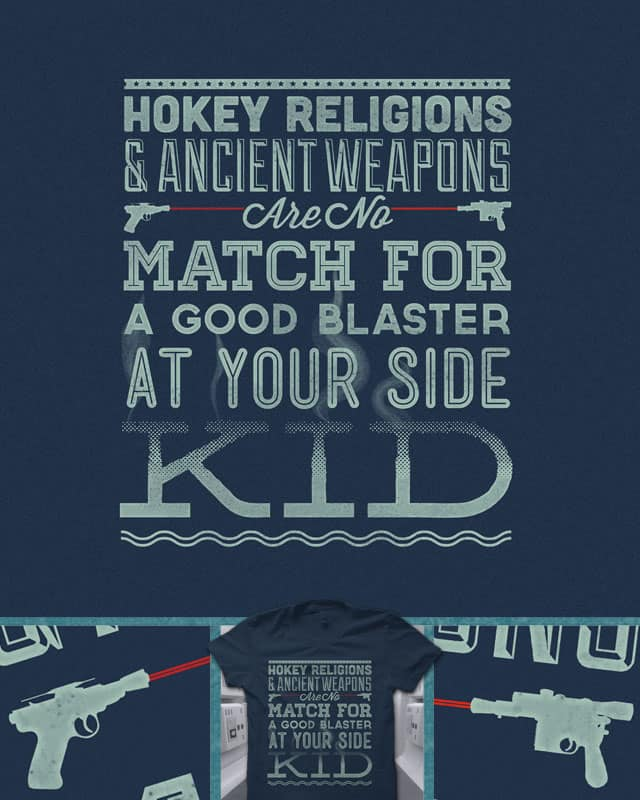 Smugglers' Wisdom by quick-brown-fox on Threadless