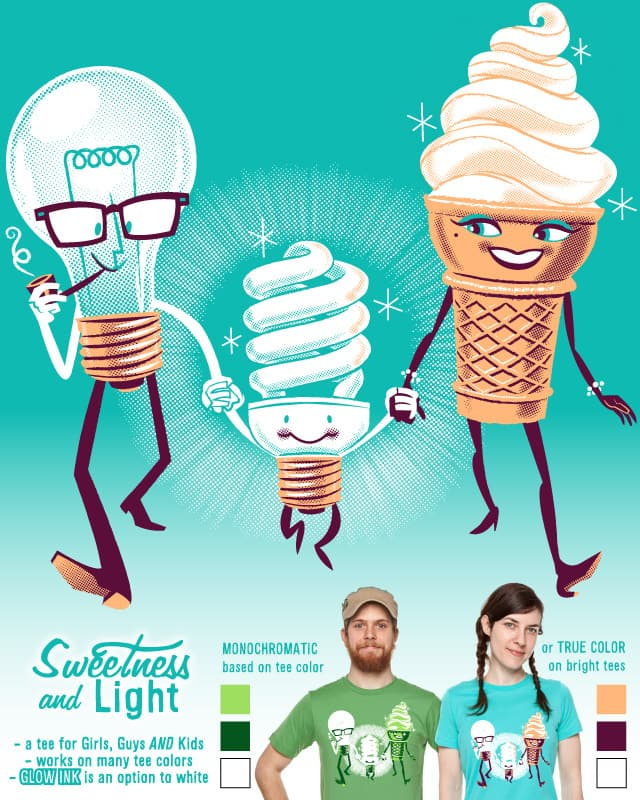 Sweetness and Light by alternate persona on Threadless