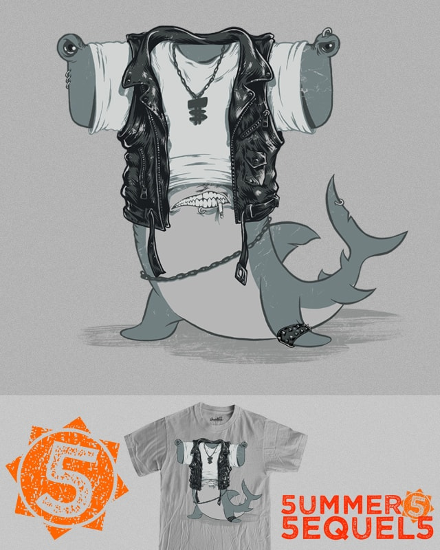 T-Shark, 2 years later by RicoMambo on Threadless