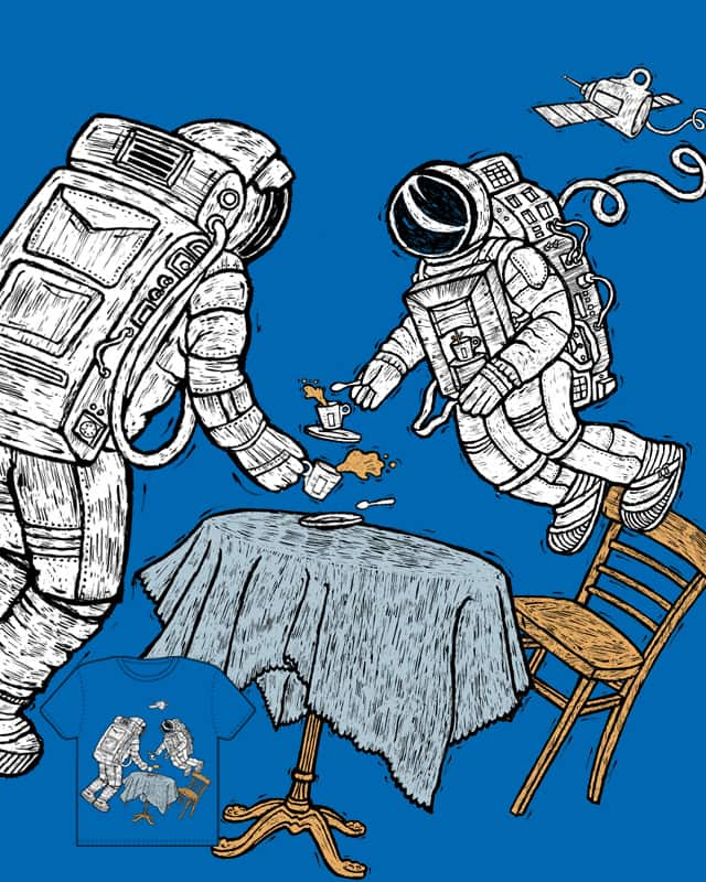 Space Cafe No.1 by siamak_pj on Threadless