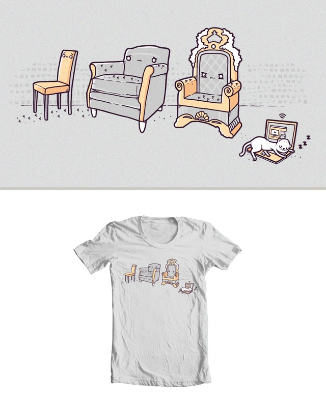 Cats and seats by randyotter3000 on Threadless