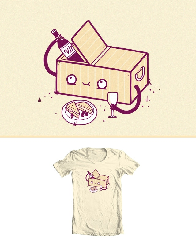 Picnic for one by randyotter3000 on Threadless