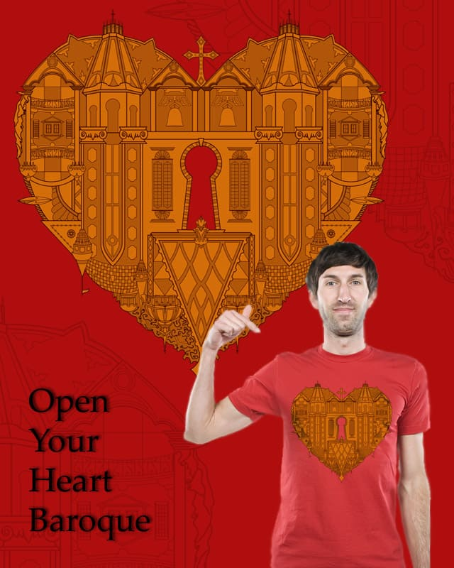 Open Your Heart Baroque by sombers_eye on Threadless