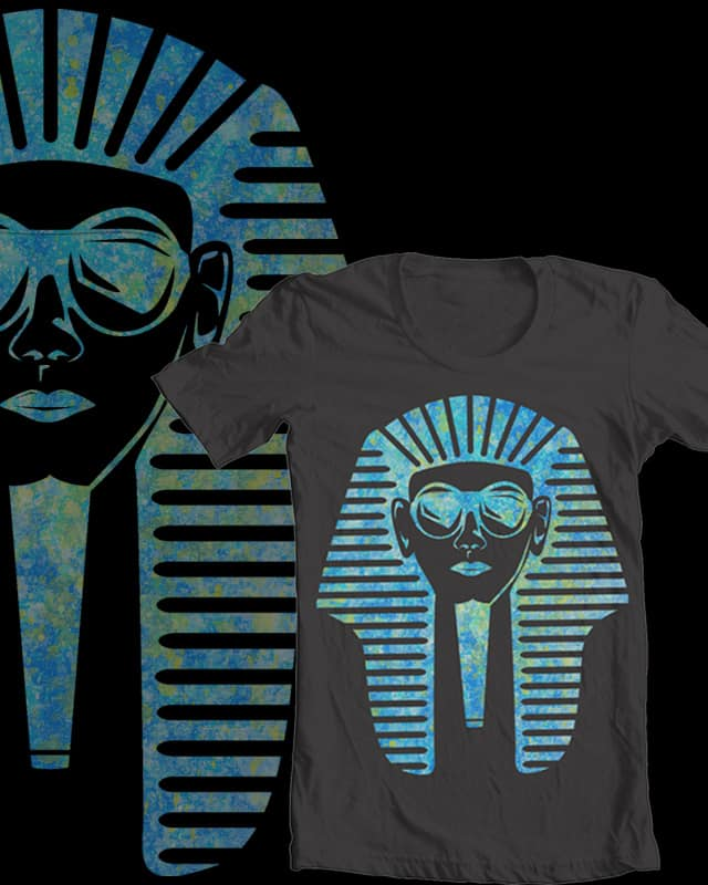 The Pharaoh King by alexhep on Threadless