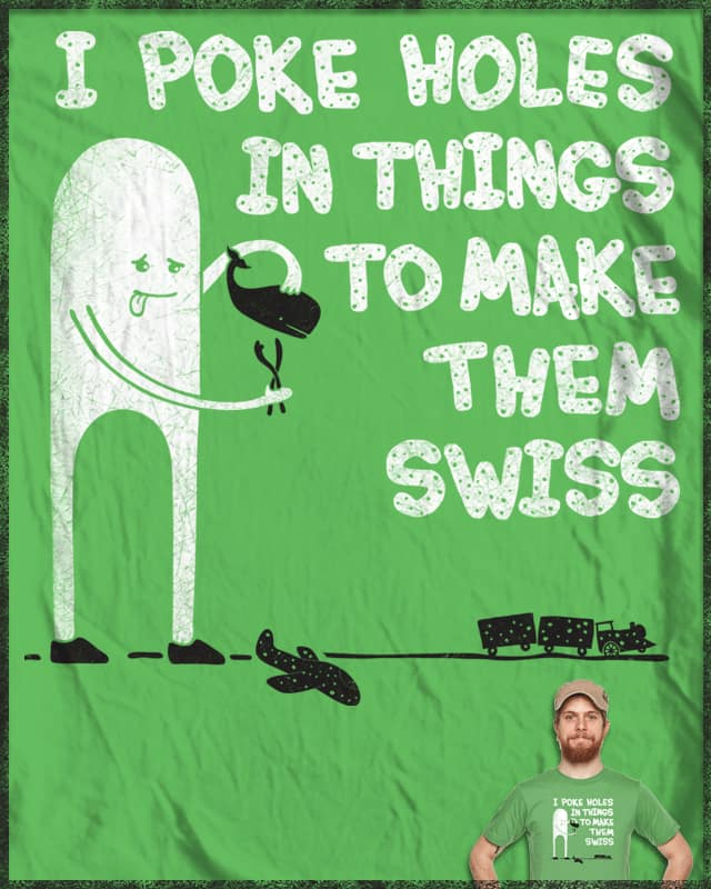 Making Swiss Happen by BeanePod on Threadless