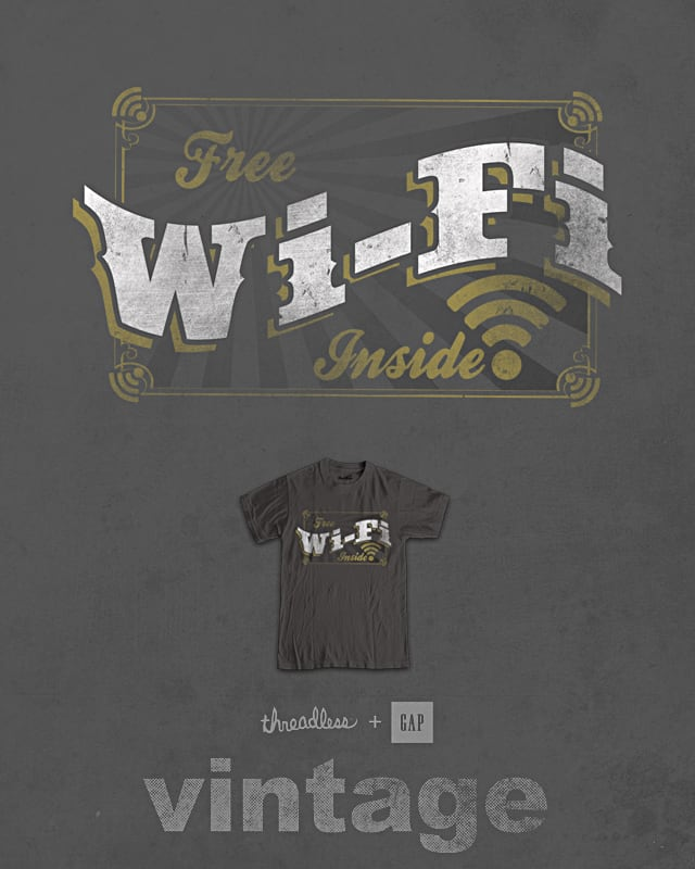 free wifi by jerbing33 on Threadless
