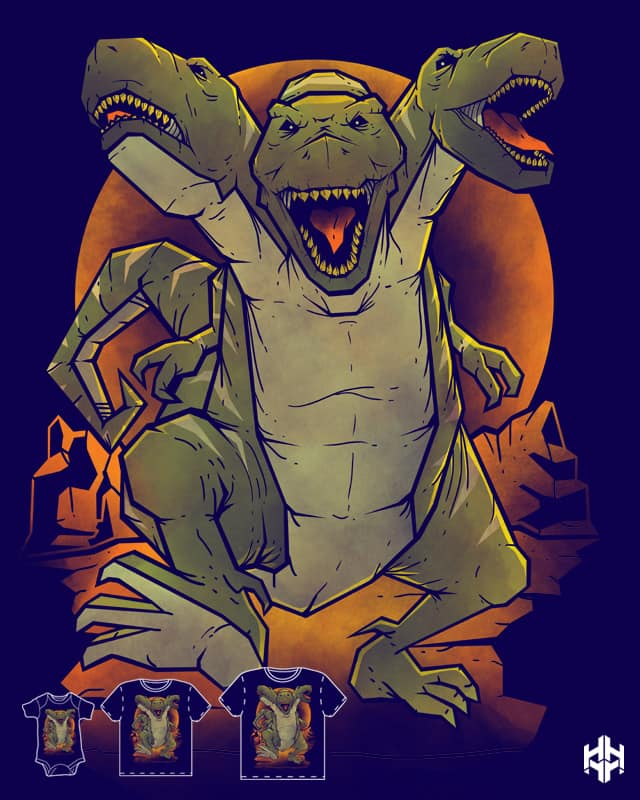 Cerbesaurus by sayahelmi on Threadless