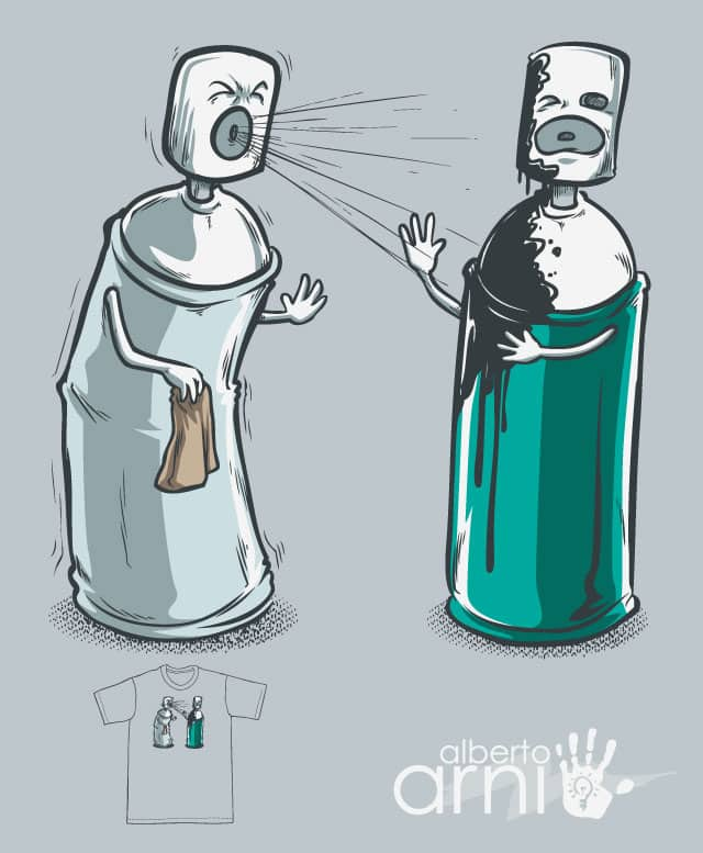 Bless You! by albertoarni on Threadless
