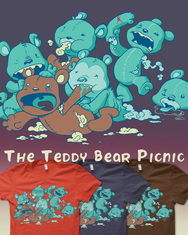The Teddy Bear Picnic by Dooomcat on Threadless