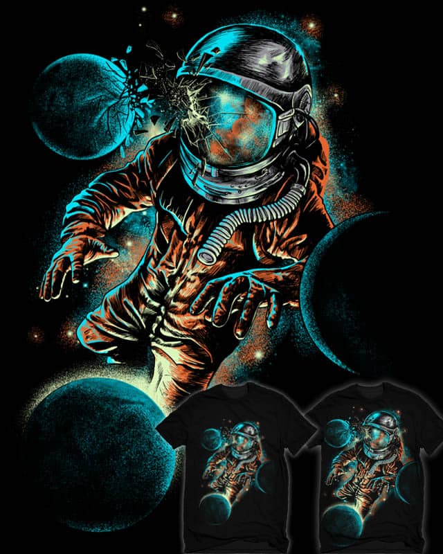 space impact by bokien on Threadless