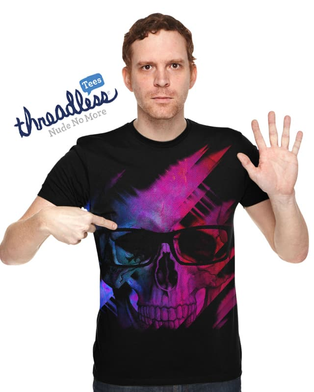 Frenzy Skull by chingmoncheng on Threadless