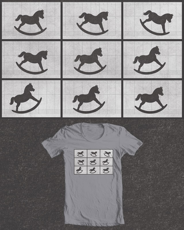 The Rocking Horse In Motion by meatpaste on Threadless
