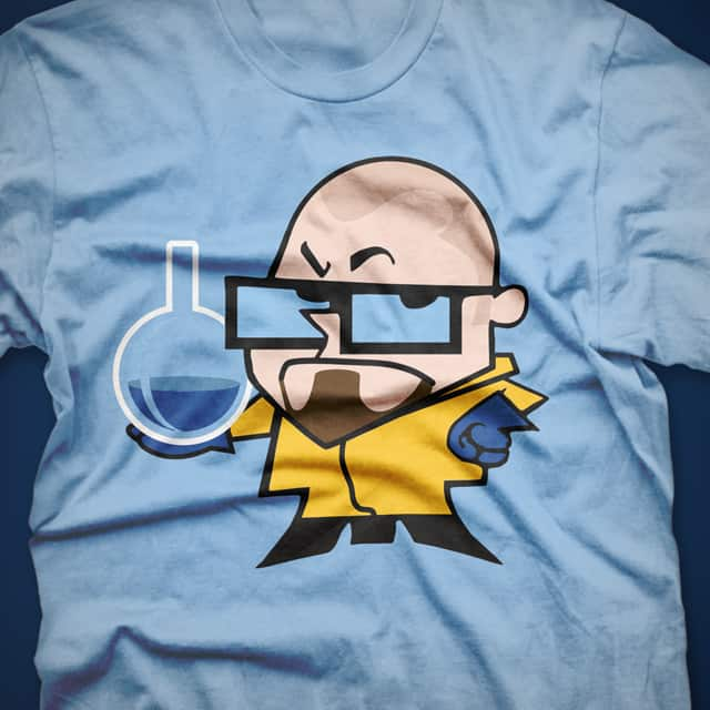 DEXTER WHITE by ounom on Threadless