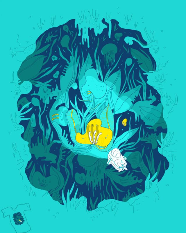 Undiscovered Wonder of the Sea by jstumpenhorst on Threadless
