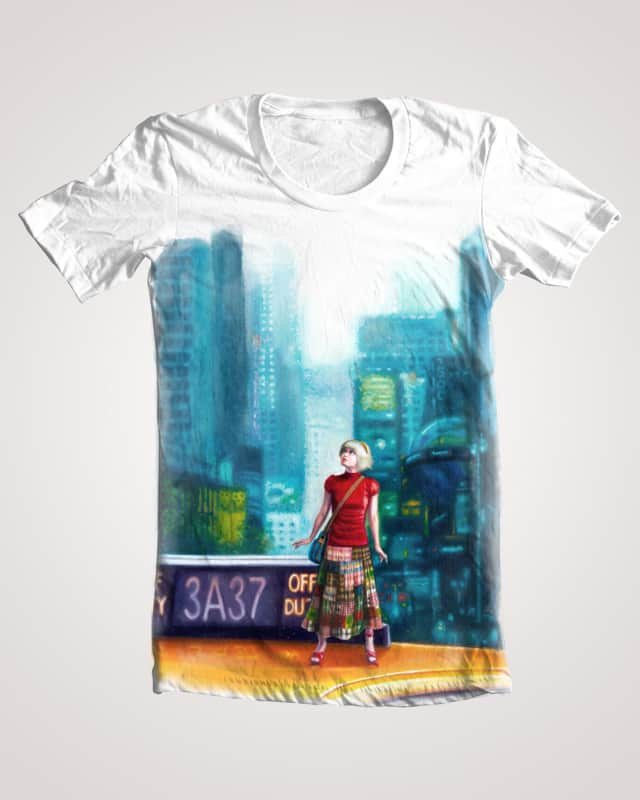 Traveling On Taxi by Phoenix Chan on Threadless