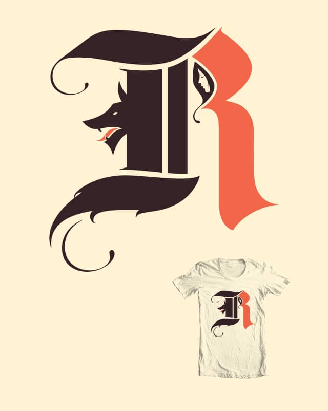 R is for Red by pap-iro on Threadless