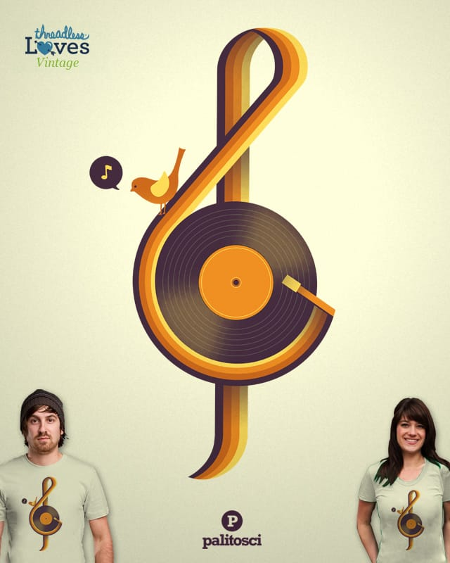 Retro Sound by palitosci on Threadless