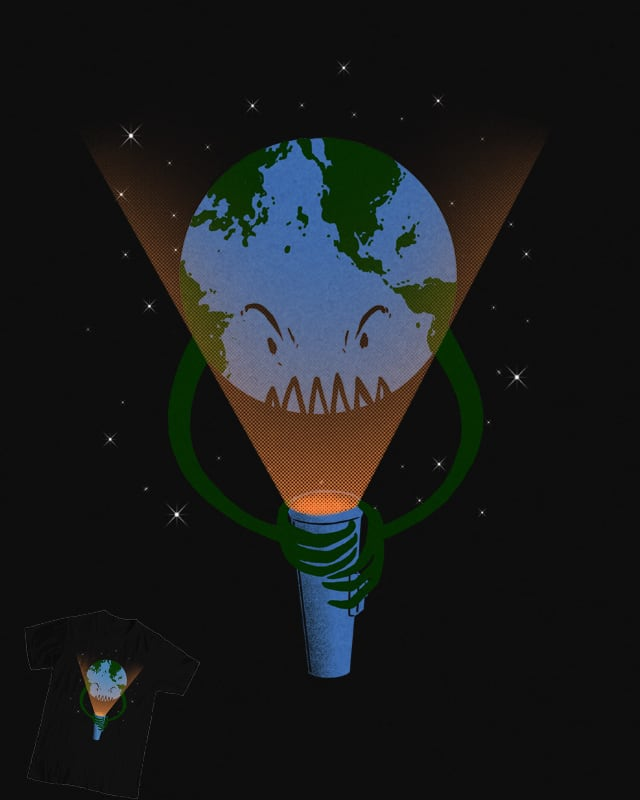 Scary earth by barmalisiRTB on Threadless