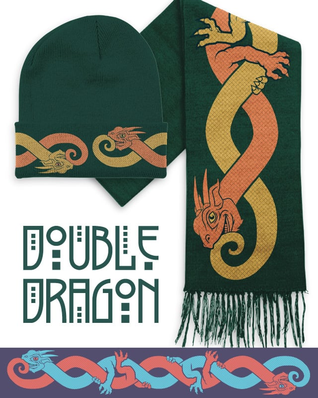 Double Dragon by Musarter on Threadless