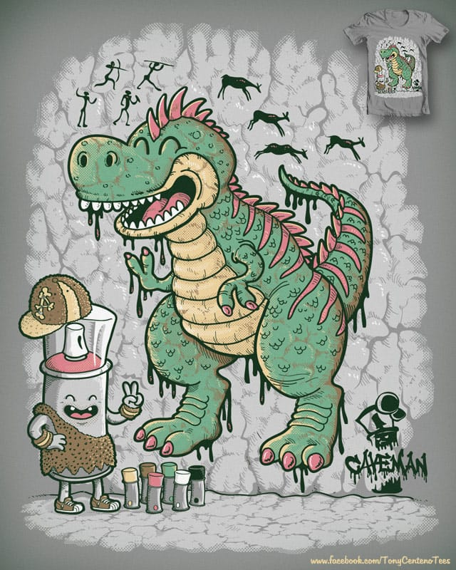 Prehistoric Graffiti by Tony Centeno on Threadless