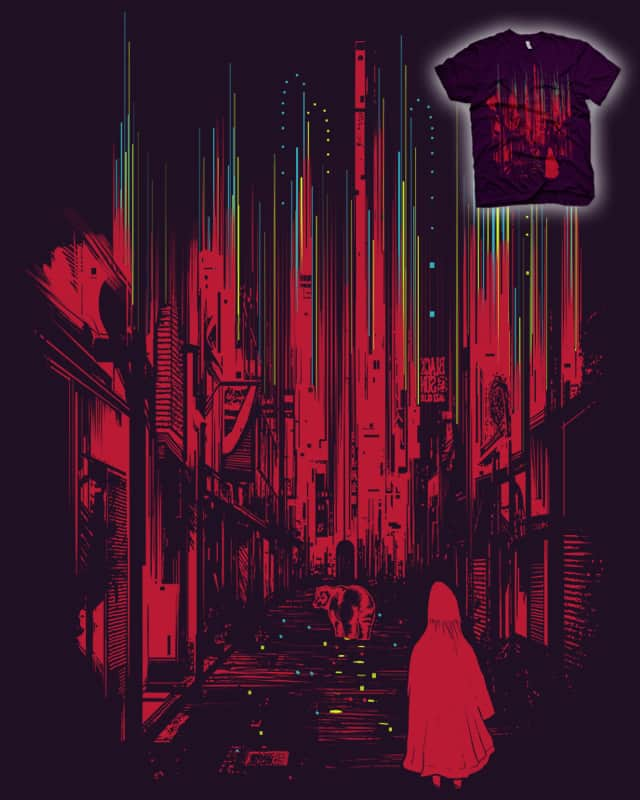 Meet Me Where The Night Glows by iamrobman on Threadless