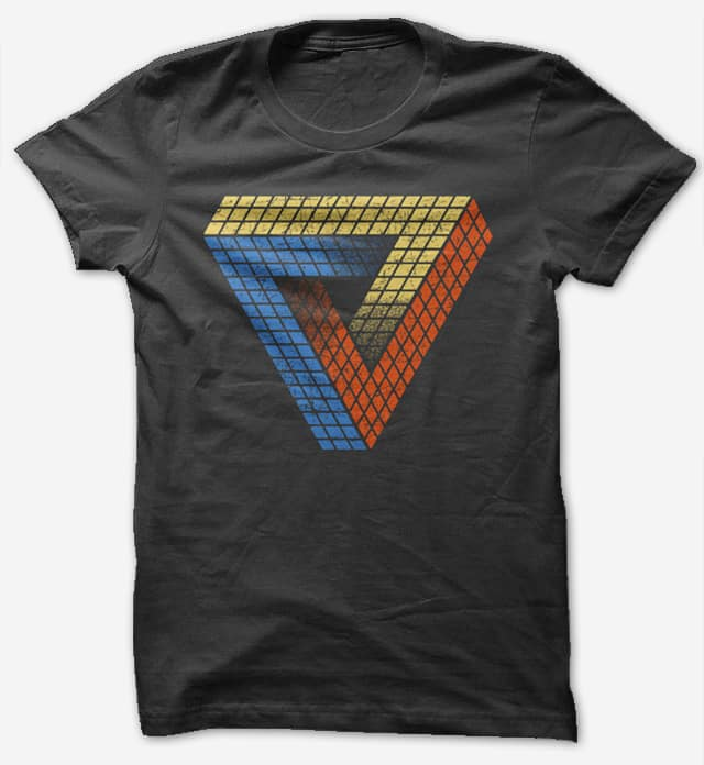 Penrose Puzzle by tomburns on Threadless