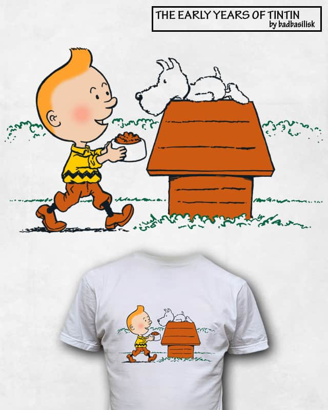 the early years of tintin by badbasilisk on Threadless