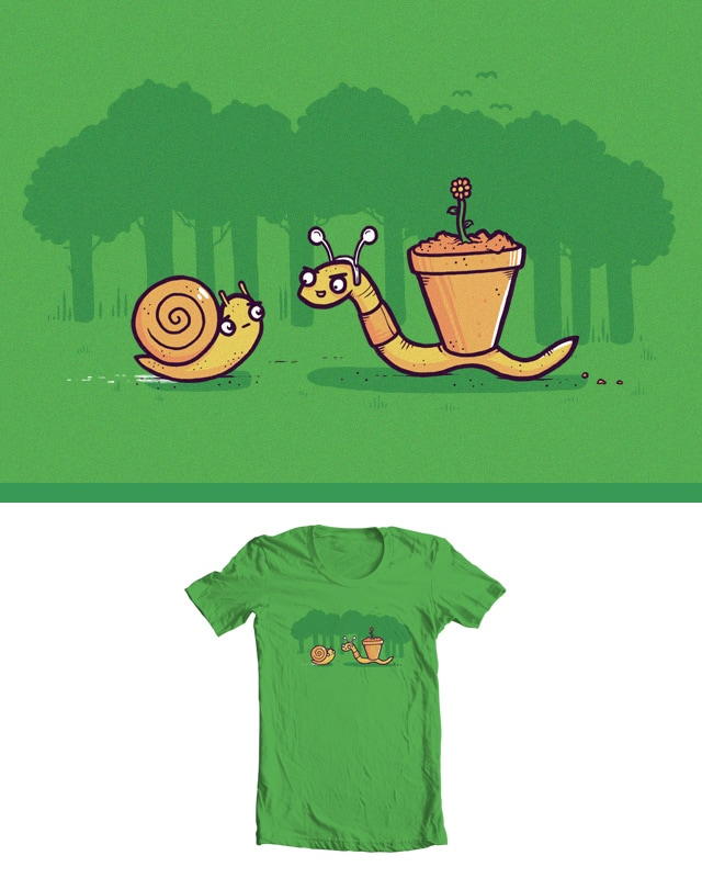 Worm bully by randyotter3000 on Threadless