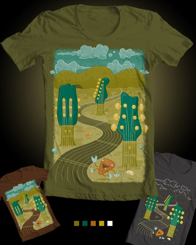 GuitarWorld by LaBIZz on Threadless