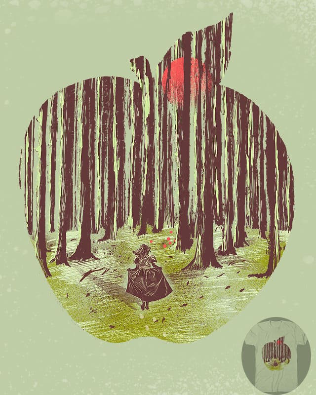 Lost in Woods by shesmatilda on Threadless