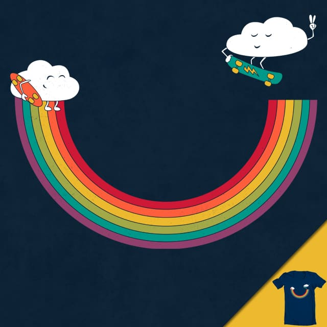 Rainbow Halfpipe by Goto75 on Threadless