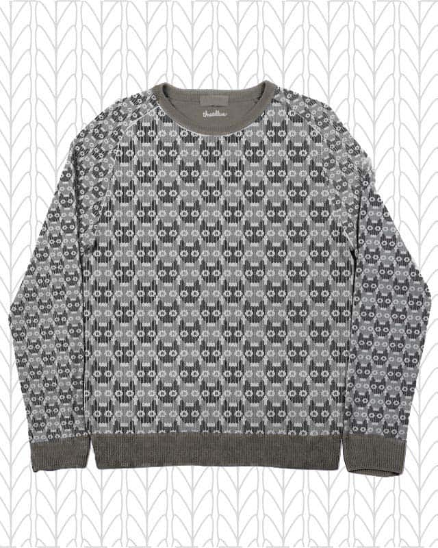 Curious Cat Sweater by Evilla on Threadless
