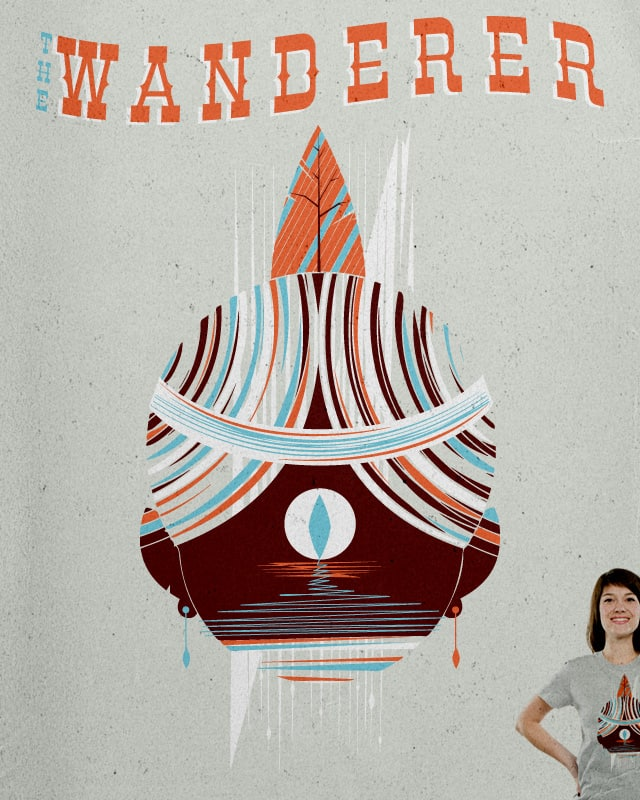 The Wanderer by Ryder on Threadless