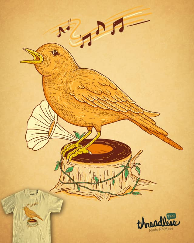 music of nature by netralica on Threadless