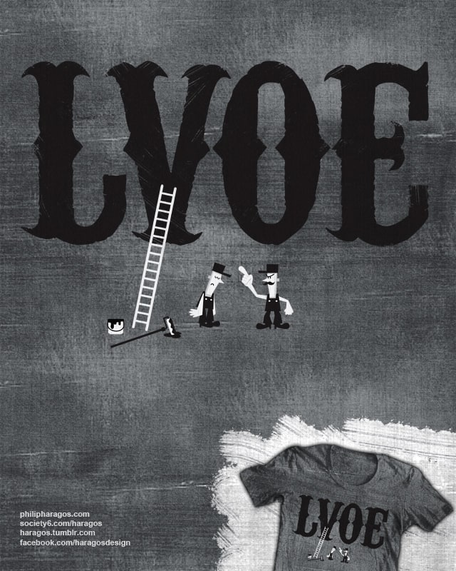 LVOE by Haragos on Threadless