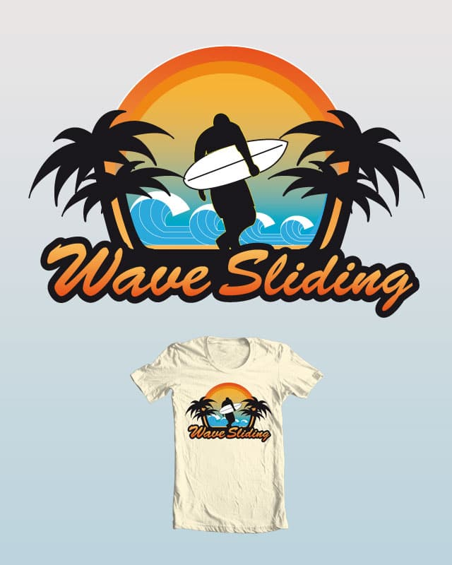 Wave Sliding by vlad.s on Threadless