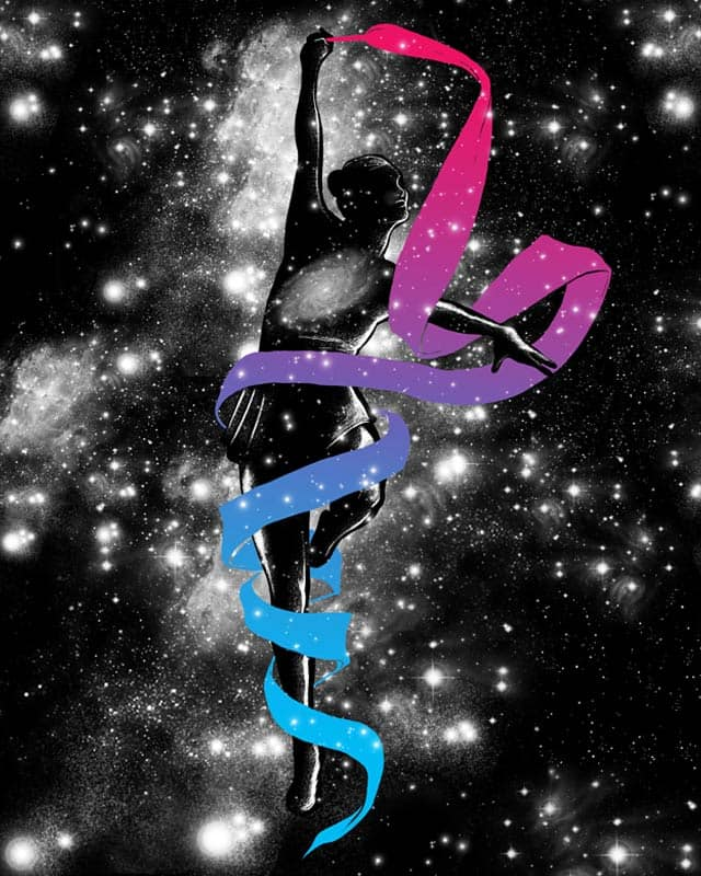 Dancing with the universe by TenTimesKarma on Threadless