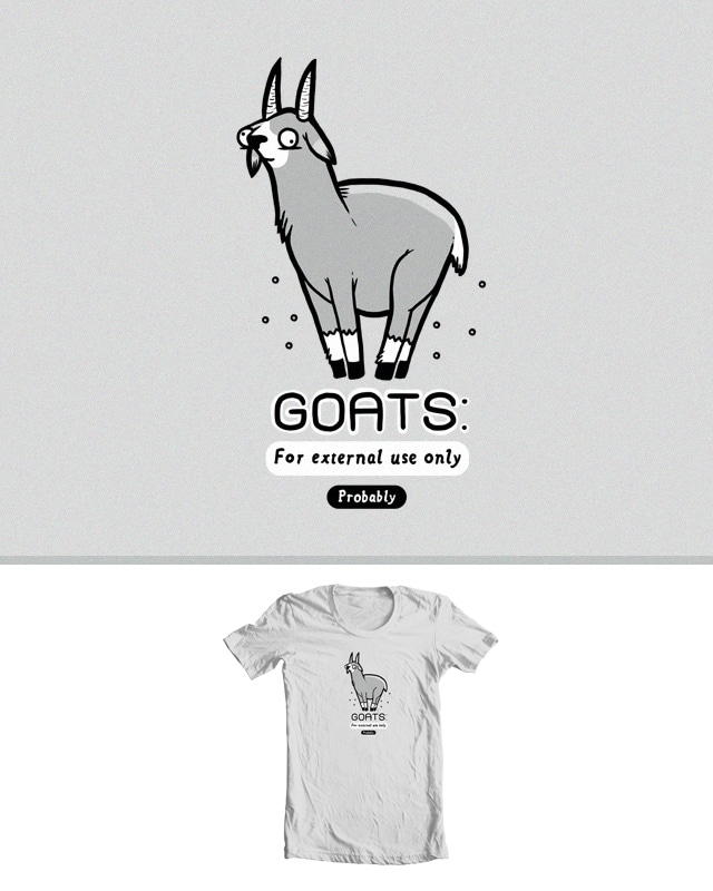 Goats by randyotter3000 on Threadless