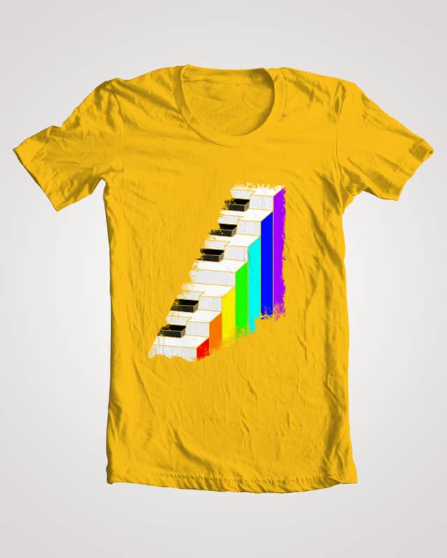 Piano by dkkli on Threadless