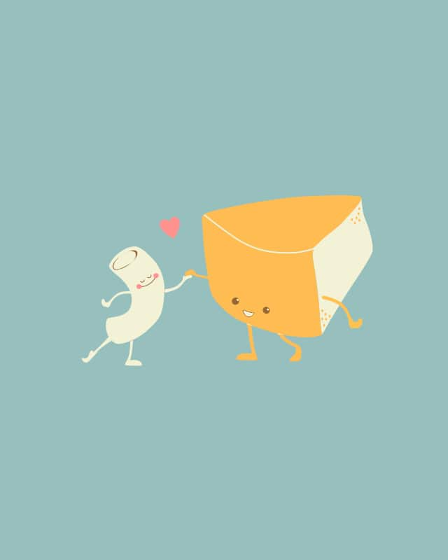 Mac and Cheese Forever by Travegan on Threadless