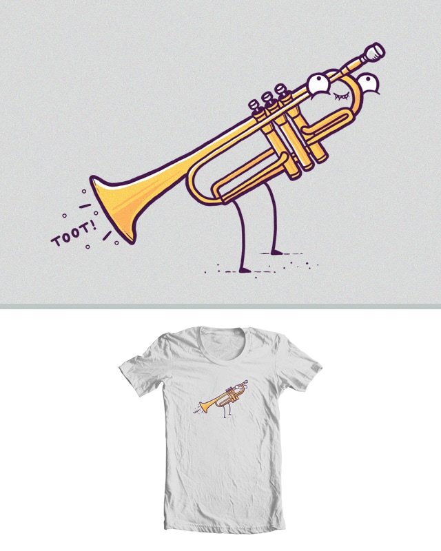 Toot! by randyotter3000 on Threadless